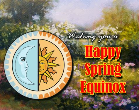 happy spring equinox ecard  spring equinox ecards greeting cards