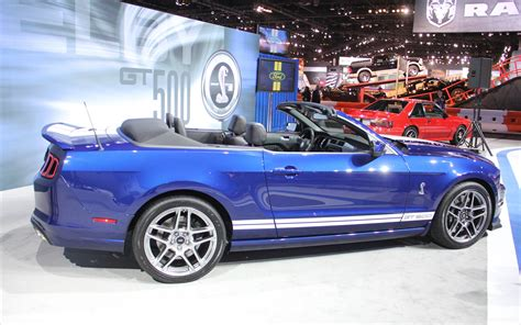 ford shelby mustang gt500 convertible 2013 widescreen