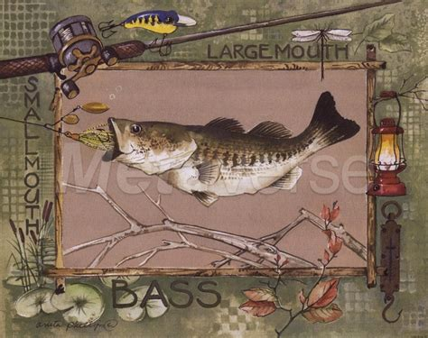 Bass Fishing Home Decor 78 Best Images About Rustic Fishing Decor On Mouths Kid And Boats