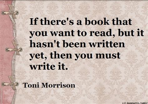 it s in there â books is never any better than the lover toni morrison