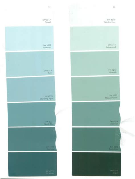 sw colors aqua shades between blue green a huge difference sw