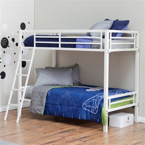 white bunk beds twin over twin duro hanley twin over twin bunk bed white bunk beds