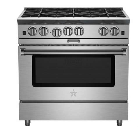 Oven Gas Platinum bsp366bn 36 quot blue platinum series pro style freestanding gas range with 6 open burners and