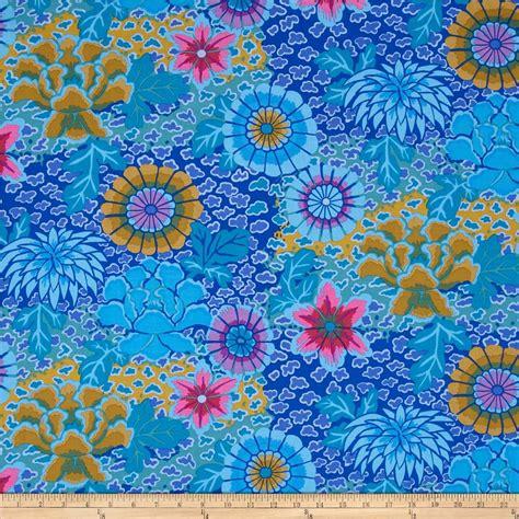 Kaffe Fassett Upholstery Fabric by Kaffe Fassett Collective Blue Discount Designer