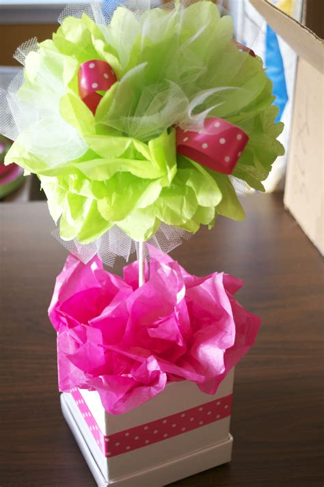How To Make Tissue Paper Centerpieces - sweet n treats anything cupcakery anything cupcakery