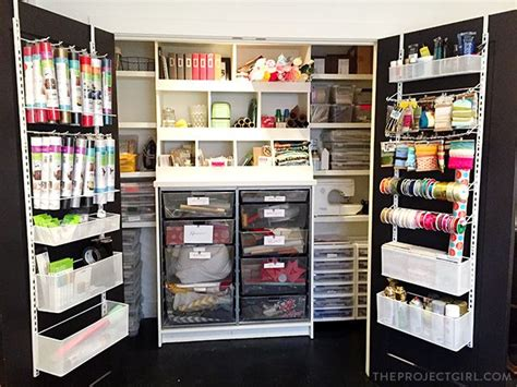 craft room closet organization 125 best images about craft room on by funky