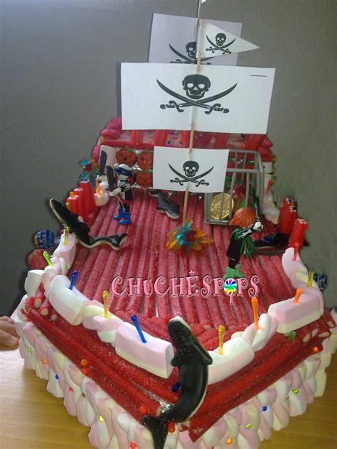 barco pirata grande chuchespops tarta chuches barco pirata fantasma