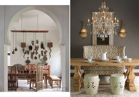 dining room with moroccan accents interiorholic