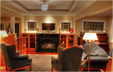 mission style decorating western style living room craftsman style interior decorating craftsman style