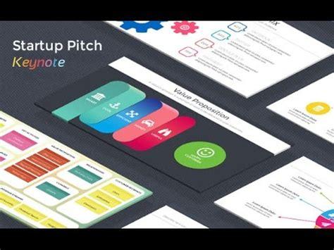 Startup Pitch Keynote Template Youtube Startup Keynote Template