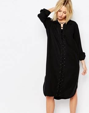 Wst 19511 Black Stripe Flower Shirt weekday shop weekday dresses tops trousers asos