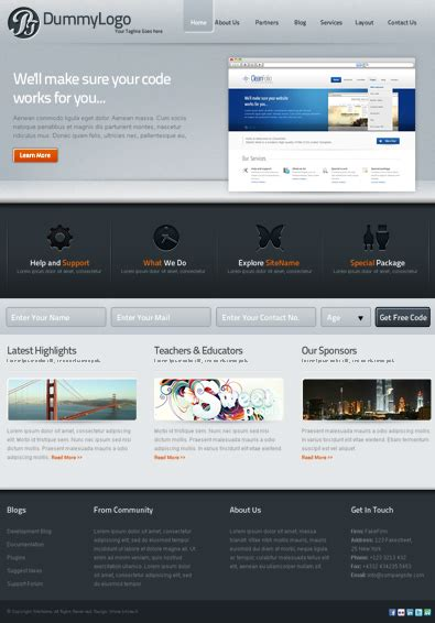 wordpress themes free download for software company software company free wordpress template free templates