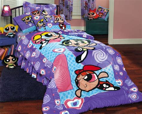 psychedelic bed set powerpuff girls psychedelic bed in a bag twin size