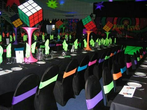 80s decor awesome 80 s themed party decor dans wedding pinterest