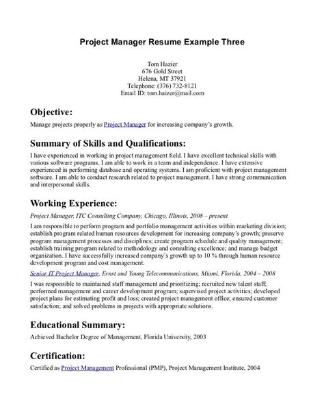Objectives For A Resume by Exle Of Resume Objective Statement Enomwarbco 20 Resume