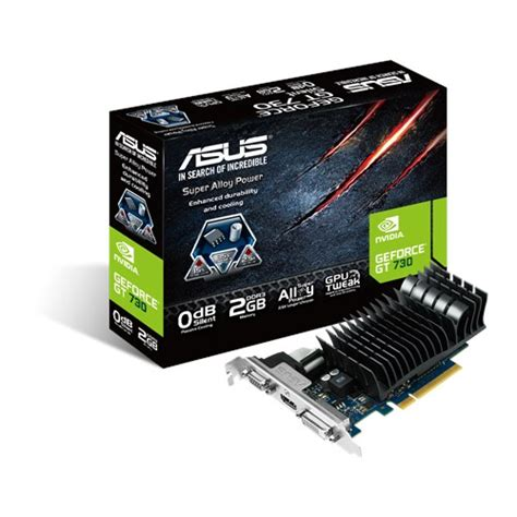 Murah Vga Card Asus Gt 730 2gb Ddr3 128bit asus geforce gt 730 low profile 2gb card engt730