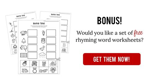 Words That Rhyme With Office by Teach Rhyming Words With This Printable The