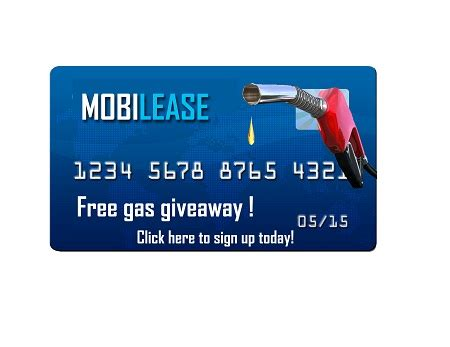 Gas Sweepstakes - mobilease equipment and vehicle leasing 713 683 9500