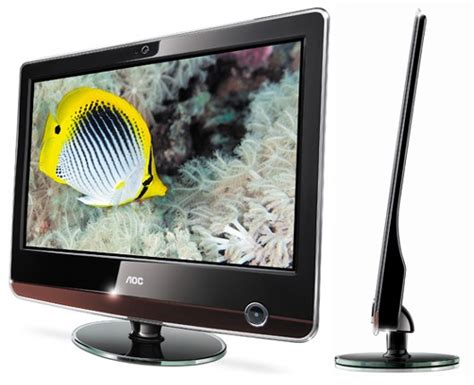 Aoc Background Check Aoc Introduces 17 Inch V17 Lcd Monitor 12 Millimeters Thin