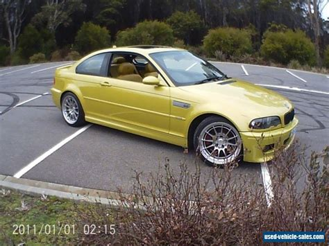 Bmw M3 2003 For Sale by Bmw E46 M3 For Sale In Australia