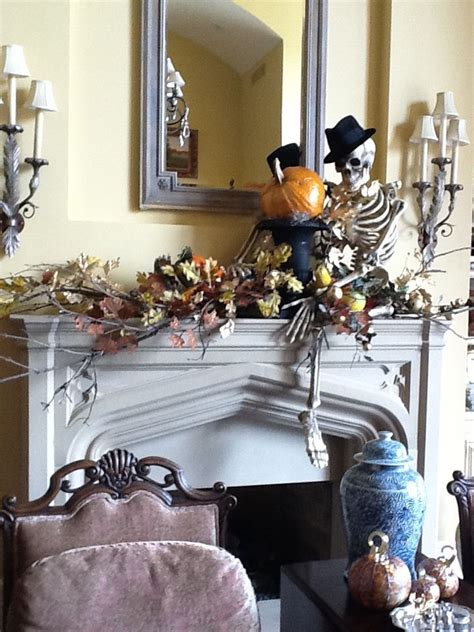 14 last minute ways to style your haunted halloween mantle
