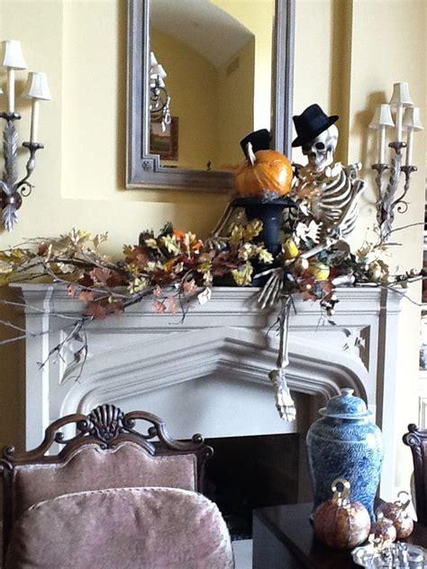 halloween mantel decorating ideas feed inspiration