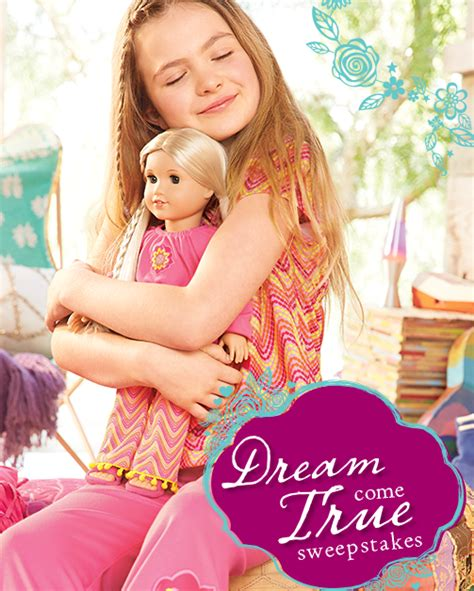 American Dream Sweepstakes - american girl dream come true sweepstakes