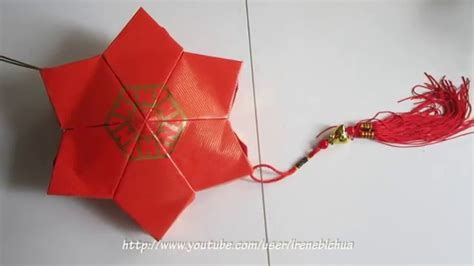 make new year lanterns using packets cny tutorial no 32 packet hongbao lantern