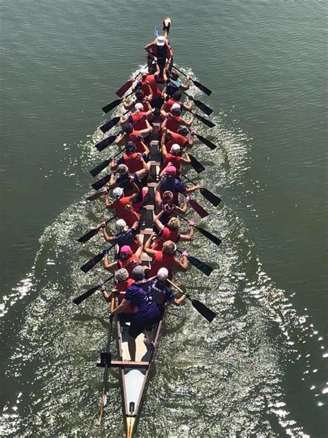 dragon boat charleston cancer survivors show spirit and racing savvy in dragon