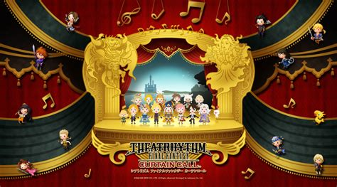 ff theatrhythm curtain call theatrhythm final fantasy curtain call trailer gamer