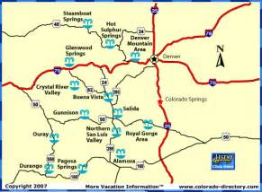 colorado springs map co vacation directory