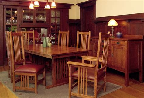 Craftsman Style Dining Room Furniture Top 25 Best Craftsman Dining Sets Ideas On Pinterest Craftsman Style Glass Dining Room Sets