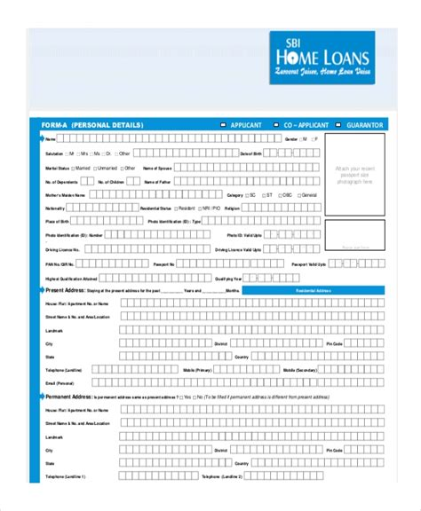 Housing Loan Documents