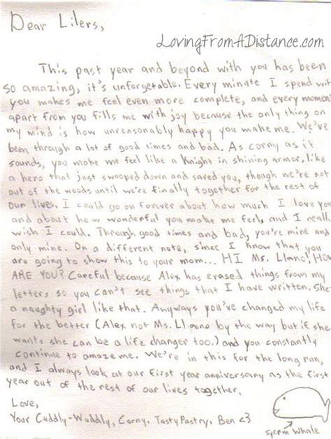 Distance Letter