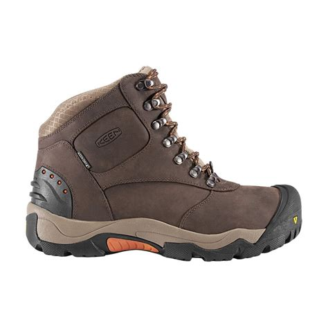 mens keen snow boots keen mens revel ii coffee bean rust all purpose winter