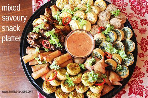 mixed savoury snack platter aninas recipes