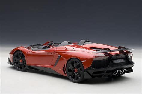 Autoart Lamborghini Autoart Lamborghini Aventador J Metallic 74673 In