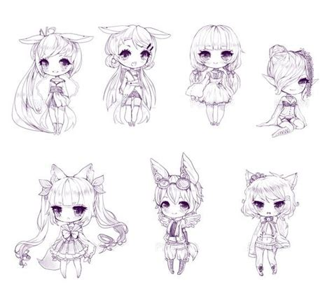 anime hairstyles pigtails name and adopt a chibi the girl with pigtails and cat
