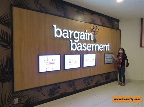 Bargain Basement Ioi City Mall Bargain Basement Outlet