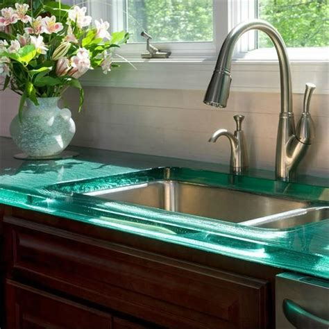 Glass2 Countertops by 25 Best Ideas About Glass Countertops On