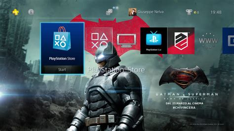 psp themes superman ps4 gets free batman v superman dynamic theme and lone