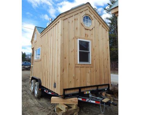8x16 Cross Gable Tiny House On A Trailer | 8x16 cross gable tiny house on a trailer