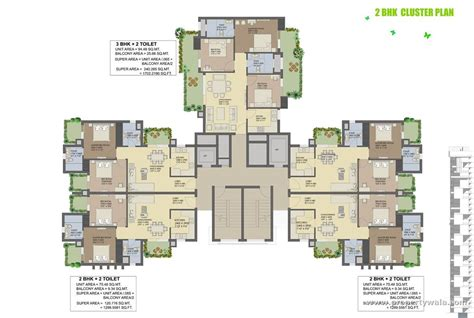 cluster house plans agrante beethoven 8 sector 107 gurgaon apartment
