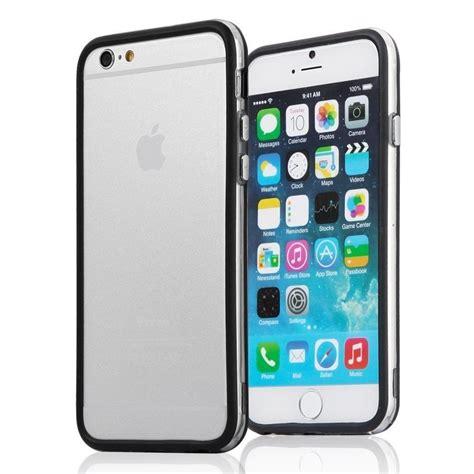 Bumper Iphone 6 bumper cover per iphone 6 e 6s 4 7 nero e trasparente