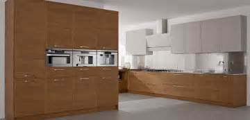 Modern Kitchen Wood Cabinets by Kitchen Modern Interior Kitchen With Wood Concept