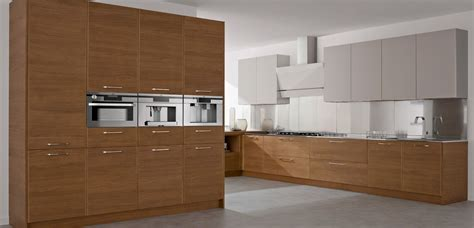 kitchen modern interior kitchen with wood concept