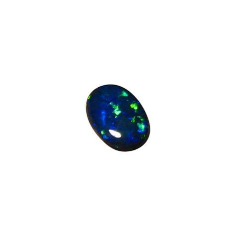Black Opal Neon black opal oval bright green n1 flashopal