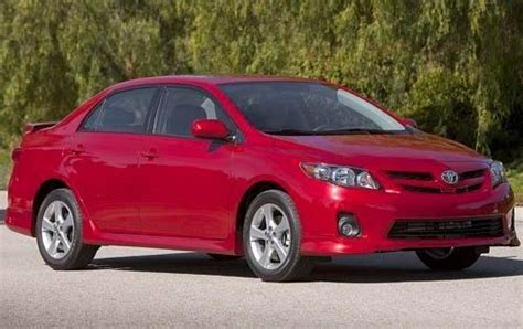 2011 Toyota Corolla Tire Size 2011 Toyota Corolla Type Specs View Manufacturer Details