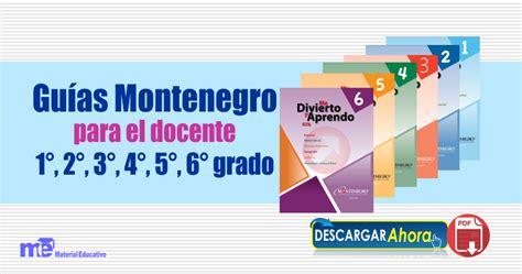 matepracticas 5 grado maestro monte negro gu 237 as montenegro para el docente 1 176 2 176 3 176 4 176 5 176 6