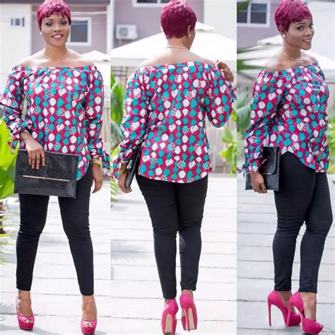 ankara top on trousers ankara top on jeans naija ng